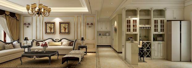 140平米三室两厅欧式风格走廊图片大全