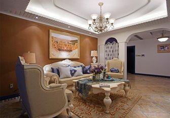 140平米三室三厅地中海风格客厅图