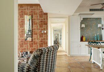 140平米三室两厅田园风格走廊设计图