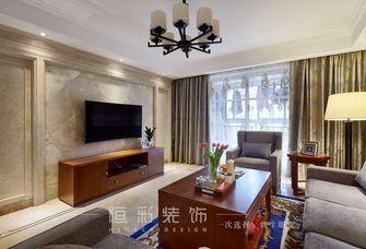 豪华型130平米三室两厅新古典风格客厅装修图片大全