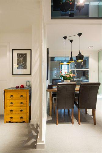 富裕型120平米三室四厅现代简约风格餐厅图片