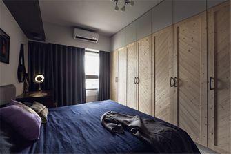 80平米英伦风格卧室图片大全