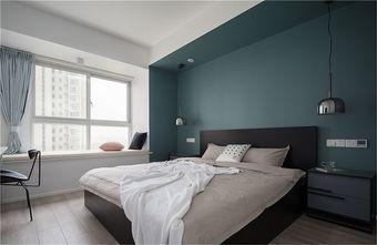 90平米北欧风格卧室图