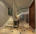 富裕型110平米复式混搭风格楼梯装修案例