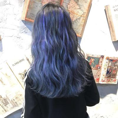发型烫染作品图