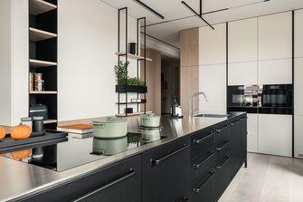130平米三室一厅日式风格厨房欣赏图