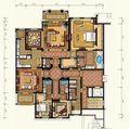 别墅田园风格设计图