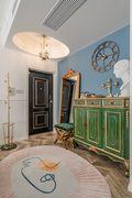 140平米三室两厅法式风格玄关装修图片大全