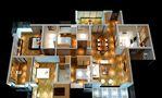 20万以上130平米四室两厅东南亚风格其他区域装修效果图