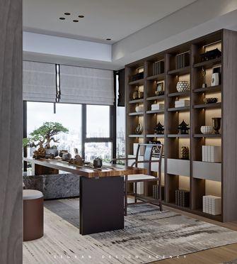 140平米四室一厅中式风格书房图
