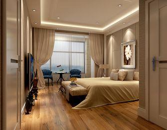 140平米四室四厅东南亚风格卧室图片