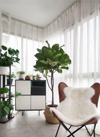 100平米现代简约风格阳台设计图