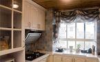 140平米三室两厅地中海风格厨房效果图