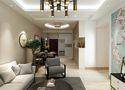 120平米三室两厅中式风格餐厅设计图