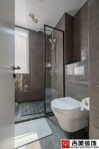 80平米三室一厅现代简约风格卫生间图片