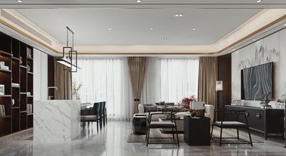 豪华型140平米别墅中式风格客厅装修效果图