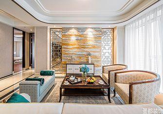 120平米四室一厅混搭风格客厅欣赏图