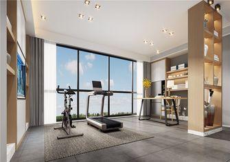 120平米三室两厅北欧风格健身室图片