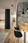 80平米一室两厅宜家风格餐厅图片