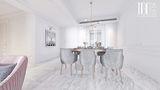 140平米四室一厅法式风格餐厅装修图片大全