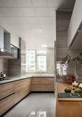 130平米三室两厅美式风格厨房家具图
