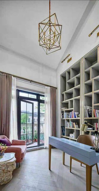 140平米三室两厅法式风格书房装修图片大全