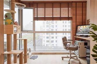 80平米一室一厅日式风格阳台装修效果图