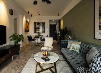 80平米三室一厅新古典风格客厅图