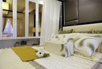 90平米三室两厅中式风格卧室装修案例