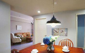 经济型90平米三室三厅田园风格餐厅装修图片大全