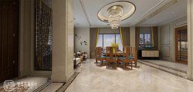 140平米別墅混搭風格餐廳裝修效果圖