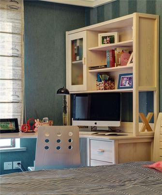 90平米复式英伦风格儿童房装修案例