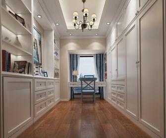 110平米三室两厅地中海风格衣帽间装修案例