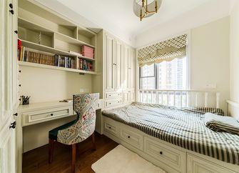 120平米三室两厅美式风格卧室飘窗装修效果图
