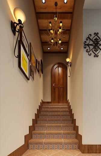 5-10万140平米复式田园风格楼梯装修图片大全