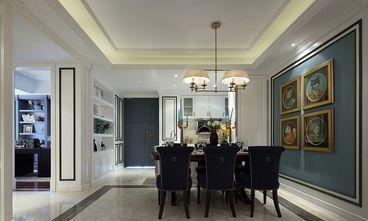 120平米三室两厅新古典风格餐厅图