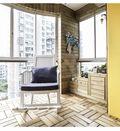 130平米三室两厅地中海风格阳台设计图