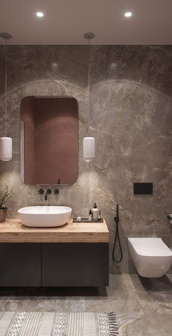 90平米三室两厅混搭风格卫生间设计图