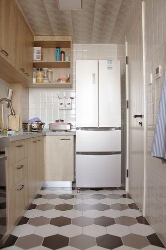 5-10万80平米一室一厅宜家风格厨房图片大全