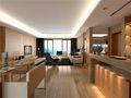 140平米三室两厅日式风格走廊图片大全