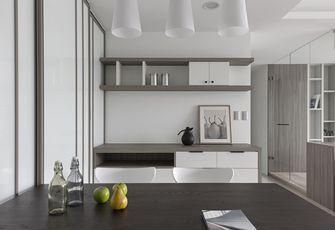 80平米现代简约风格厨房橱柜图片