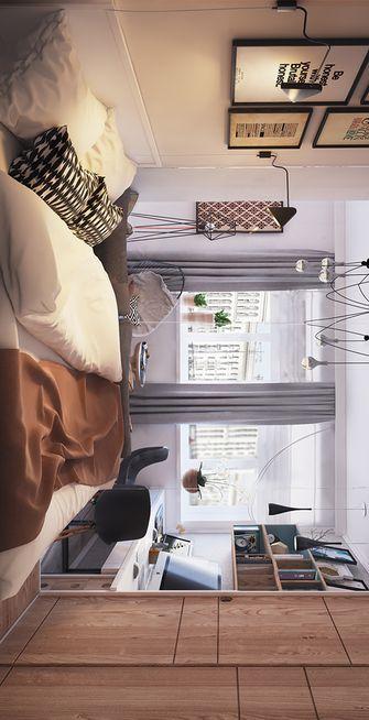 50平米一室两厅其他风格卧室装修效果图
