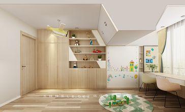 140平米复式混搭风格儿童房橱柜设计图