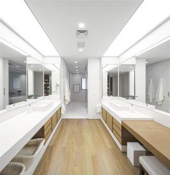 140平米三室一厅现代简约风格卫生间设计图