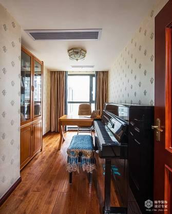 豪华型140平米四室两厅欧式风格书房装修图片大全