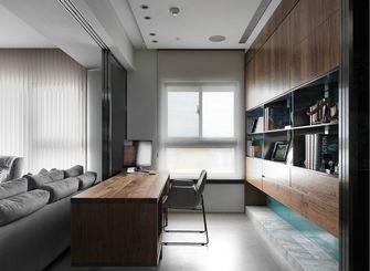 120平米三室两厅现代简约风格书房家具图片大全
