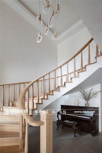 140平米别墅日式风格楼梯间效果图