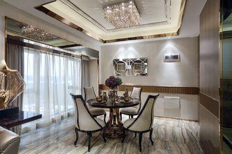 80平米三室两厅欧式风格餐厅欣赏图