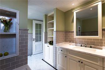 120平米三室两厅美式风格卫生间设计图