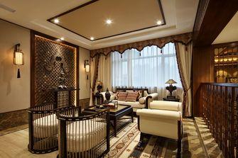140平米别墅东南亚风格客厅效果图